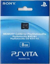 Playstation Vita 8GB Memory Card for PlayStation Vita