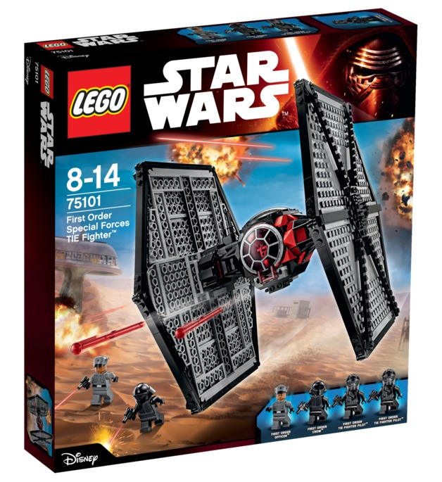 LEGO Star Wars: First Order Special Forces TIE (75101)