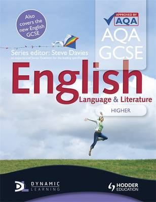 AQA GCSE English Language and English Literature Higher Student's Book by Steve Davies image