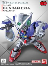 SD Gundam EX Standard Gundam Exia - Model Kit