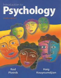 Introduction to Psychology by Rod Plotnik image