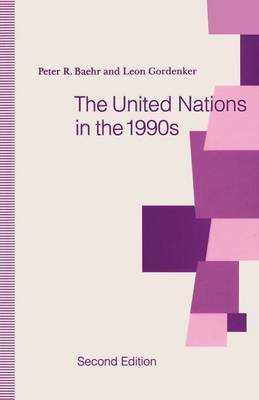 The United Nations in the 1990s by Peter R. Baehr image
