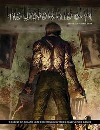 The Unspeakable Oath 20 by Shane Ivey