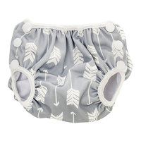 Bumkins: Swim Nappy - Grey Arrows (Medium)