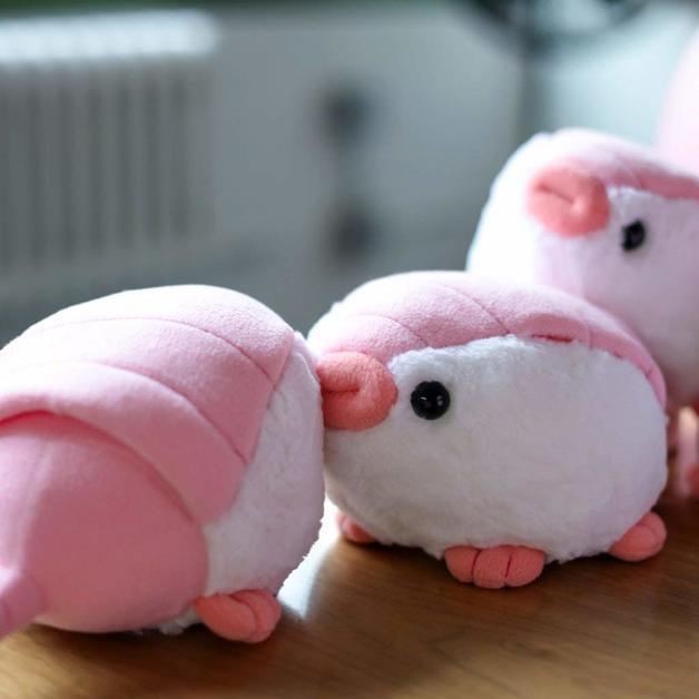 Pink Fairy Armadillo - Mini Stuffed Plush Toy