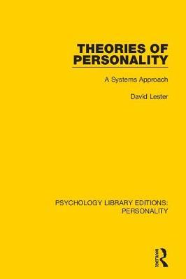 Theories of Personality by David Lester