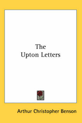 The Upton Letters by Arthur , Christopher Benson image