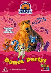 Bear In The Big Blue House - 2 For 1 - Dance Party on DVD