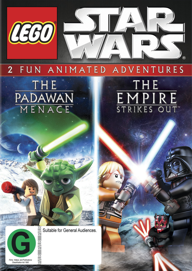 Star Wars Lego Double Pack on DVD image