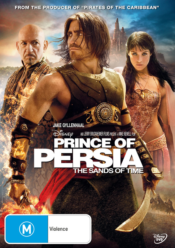 Prince of Persia - The Sands of Time on DVD