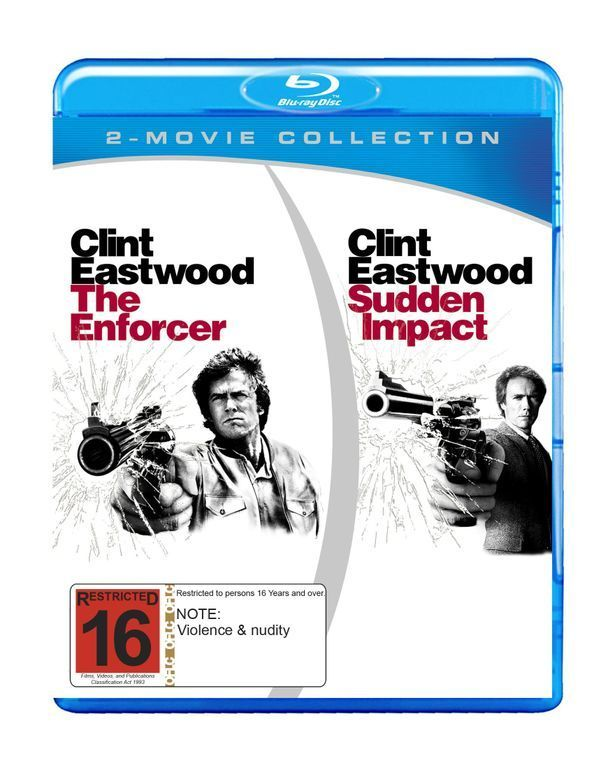 The Enforcer/Sudden Impact on Blu-ray