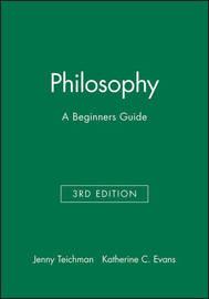 Philosophy by Jenny Teichman image