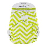Snazzipants Pocket Reusable Nappy - Lime Chevron