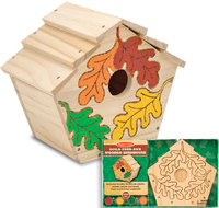 Melissa & Doug: Build-Your-Own Wooden Birdhouse