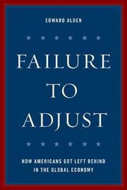 Failure to Adjust by Edward Alden image