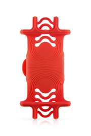 Bone Collection: Bike Tie PRO - Universal Bike Phone Mount (Red)