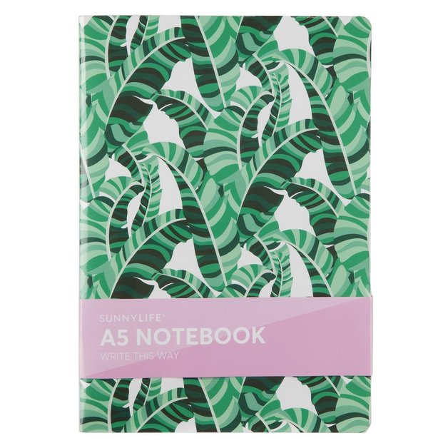 Sunnylife - A5 Notebook Banana Palm