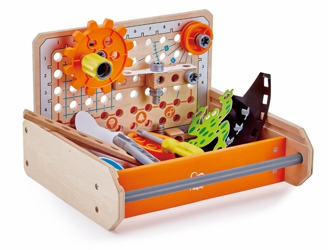 Hape: Science Experiment Toolbox - Construction Playset image