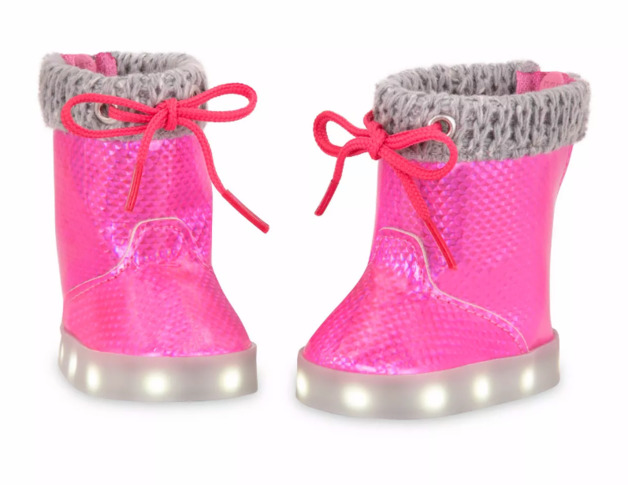 Our Generation: Light-Up Doll Shoes - Go Lightly