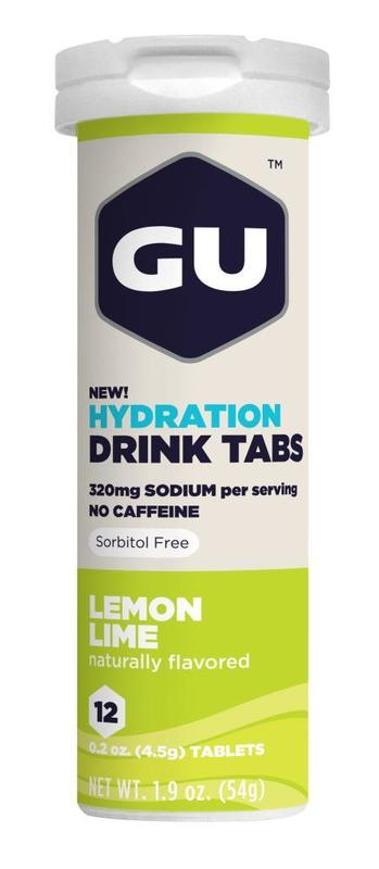 GU Hydration Tabs - Lemon Lime (54g)