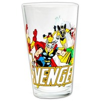 Marvel Comics 470ml Pint Glass - The Avengers image