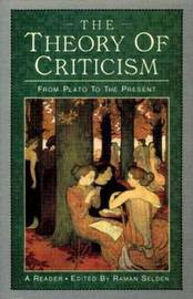 The Theory of Criticism by Raman Selden image