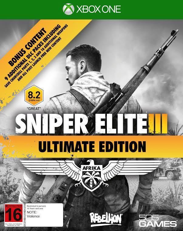 Sniper Elite 3 Ultimate Edition for Xbox One
