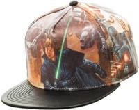 Star Wars: Printed PU - Snapback Cap