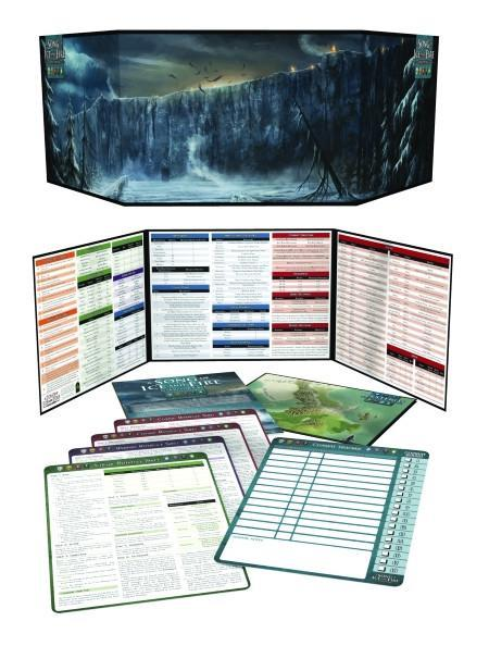 A Song of Ice and Fire RPG: Narrators Kit - Revised Edition by Steve Kenson image