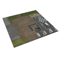 The Walking Dead: Deluxe Gaming Mat – Prison Grounds