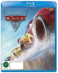 Cars 3 on Blu-ray