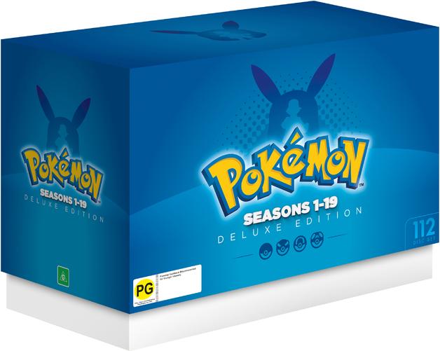 Pokemon - Deluxe Edition (Seasons 1-19) on DVD