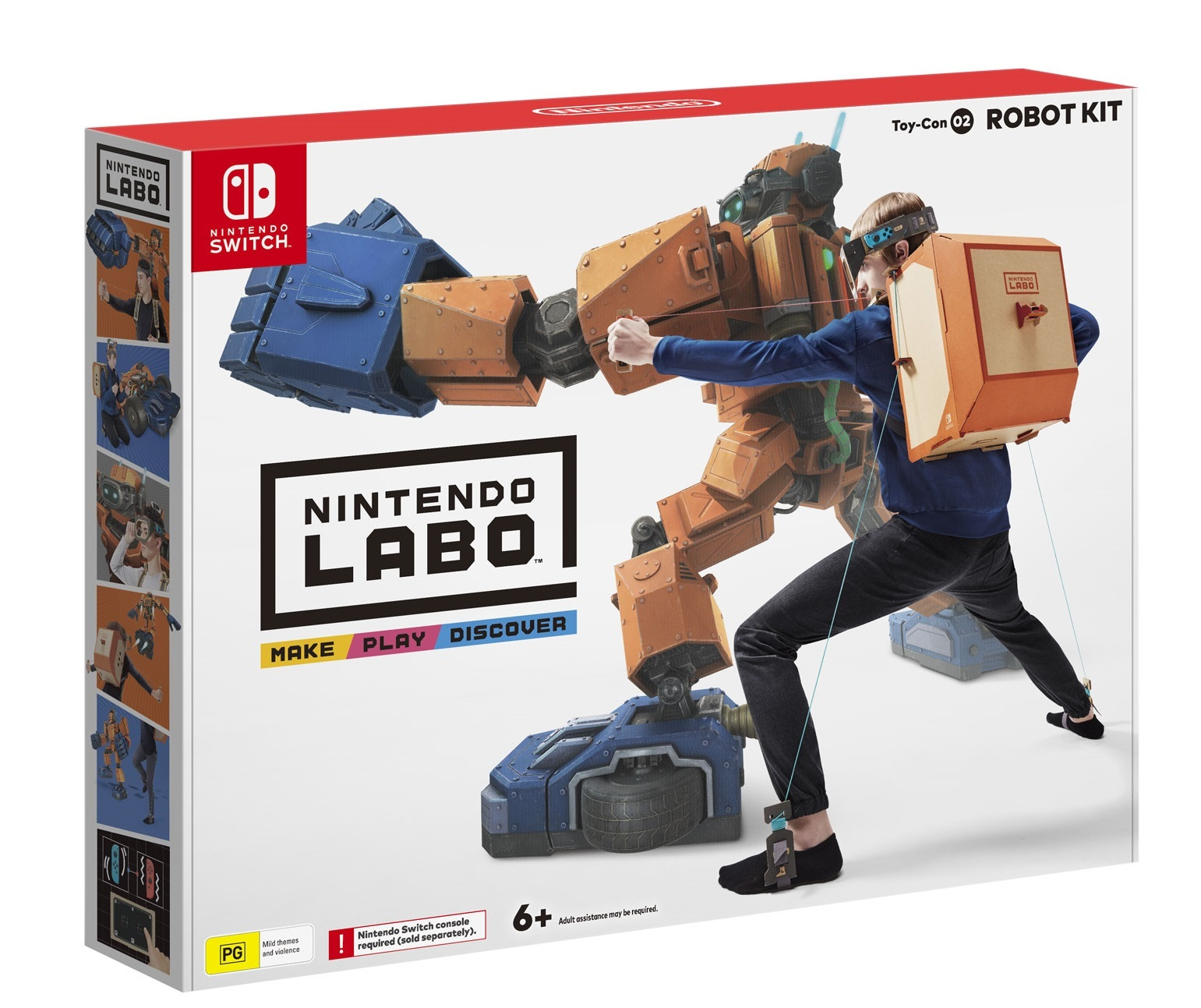 Nintendo Labo Toy-Con 02 Robot Kit for Switch image
