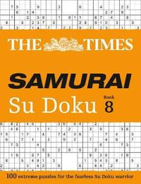 The Times Samurai Su Doku 8 by The Times Mind Games