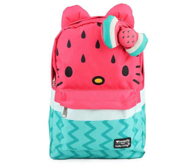 Loungefly: Hello Kitty - Watermelon Mini Backpack