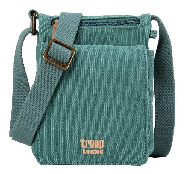 Troop London: Classic Mini Body Bag - Turquoise