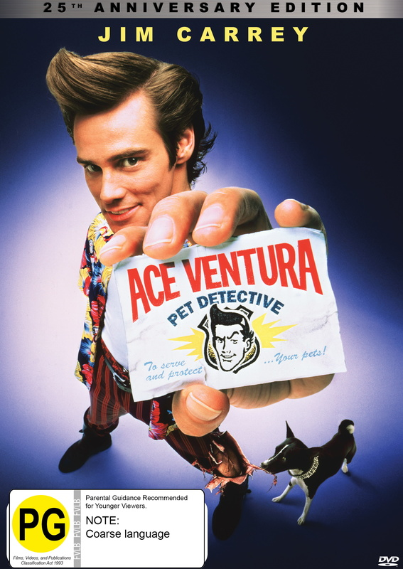 Ace Ventura: Pet Detective - 25th Anniversary Edition on DVD
