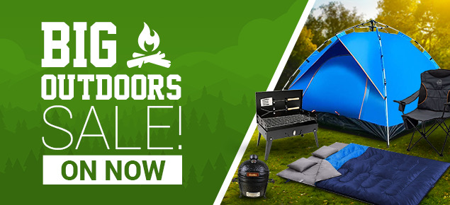 Big Outdoors Summer Warm-up Sale