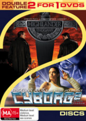 Highlander - Endgame / Cyborg 2 - Double Feature (2 Disc Set) on DVD