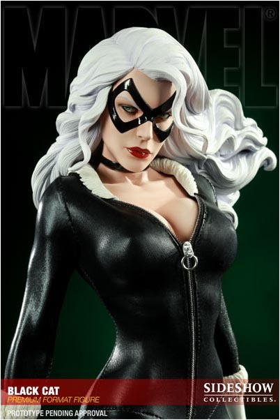 "Spiderman Premium Format 17"" Figure - Black Cat (Limited Ed. 1000) image"