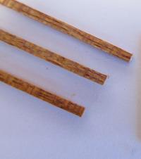 Billing Boats Mahogany Wood Strips 1.5x2x550mm (50x)