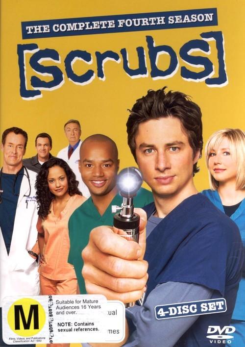 Scrubs - Season 4 on DVD
