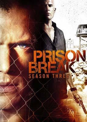 Prison Break - Complete Season 3 (4 Disc Set) on DVD