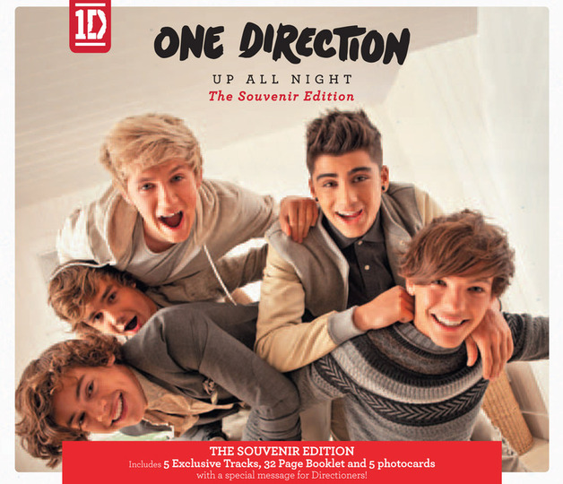 Up All Night: The Souvenir Edition by One Direction