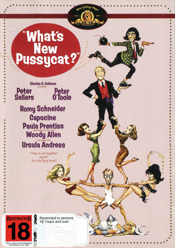 What's New Pussycat? (New Packaging) on DVD
