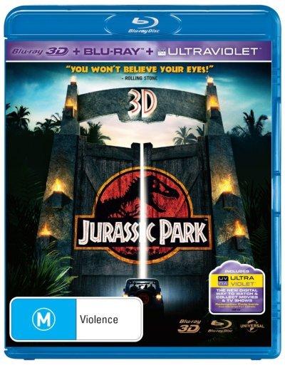 Jurassic Park 3D on Blu-ray, 3D Blu-ray