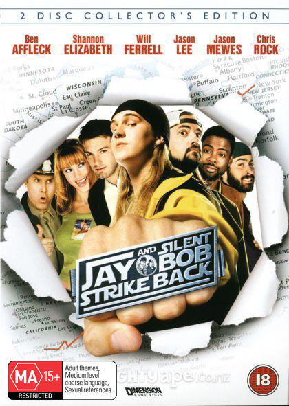 Jay & Silent Bob Strike Back on DVD