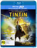 The Adventures of Tintin: Secret of the Unicorn (Blu-ray 3D / Blu-ray) DVD