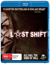 The Last Shift on Blu-ray