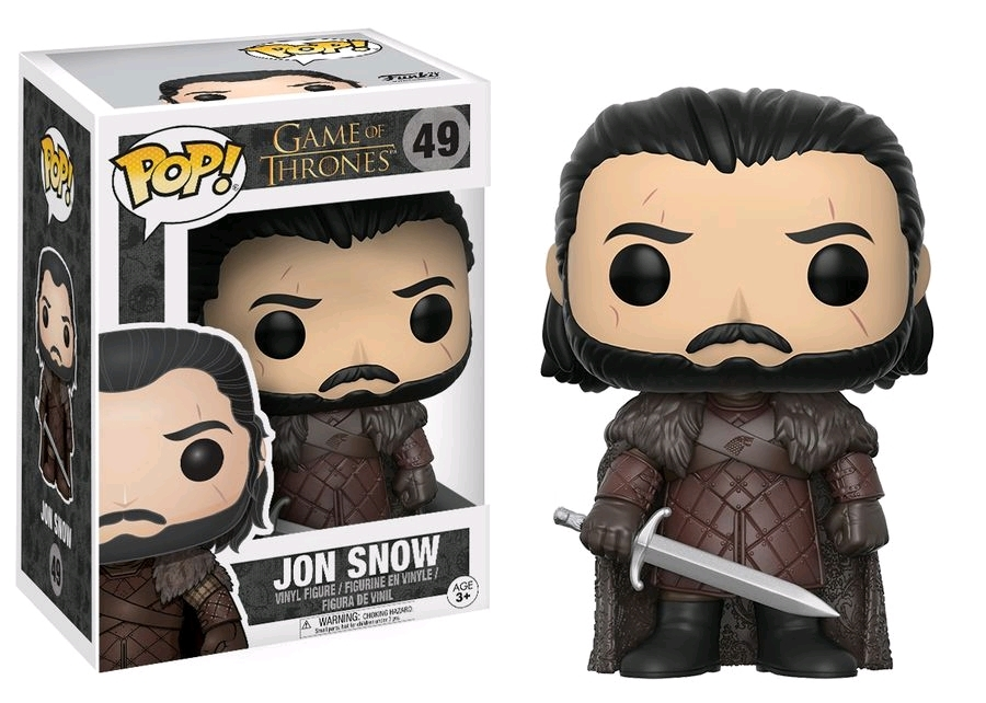 Game of Thrones (S8) - Jon Snow Pop! Vinyl Figure image